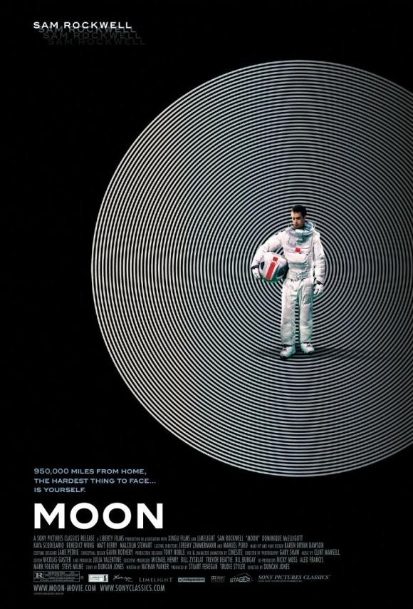 sam rockwell moon poster