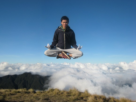 meditating-above-the-clouds